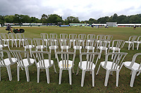 General view of the ground ahead of Surrey CCC vs Essex CCC, Specsavers County Championship Division 1 Cricket at Guildford CC, The Sports Ground on 9th June 2017