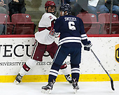 Tyler Moy (Harvard - 2), Billy Sweezey (Yale - 6) - The Harvard University Crimson tied the visiting Yale University Bulldogs 1-1 on Saturday, January 21, 2017, at the Bright-Landry Hockey Center in Boston, Massachusetts.