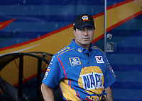May 11, 2013; Commerce, GA, USA: NHRA funny car driver Ron Capps during the Southern Nationals at Atlanta Dragway. Mandatory Credit: Mark J. Rebilas-