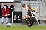 nph00001  17.05.2020 --- Fussball --- Saison 2019 2020 --- 2. Fussball - Bundesliga --- 26. Spieltag: FC Sankt Pauli - 1. FC Nürnberg ---  DFL regulations prohibit any use of photographs as image sequences and/or quasi-video - Only for editorial use ! --- <br /> <br /> Robin Hack (17, 1. FC Nürnberg ) Sebastian Ohlsson (43, FC St. Pauli ) <br /> <br /> Foto: Daniel Marr/Zink/Pool//via Kokenge/nordphoto