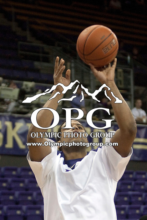 Jan 10, 2012:  Washington's Austin Seferian-Jenkins against Seattle University. Washington defeated Seattle University  91-83 at Alaska Airlines Arena Seattle, Washington..
