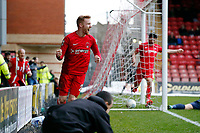 O's James Brophy cross causes Ebbsfleets Kenny Clark to score an own goal during Leyton Orient vs Ebbsfleet United, Vanarama National League Football at the Matchroom Stadium on 10th March 2018