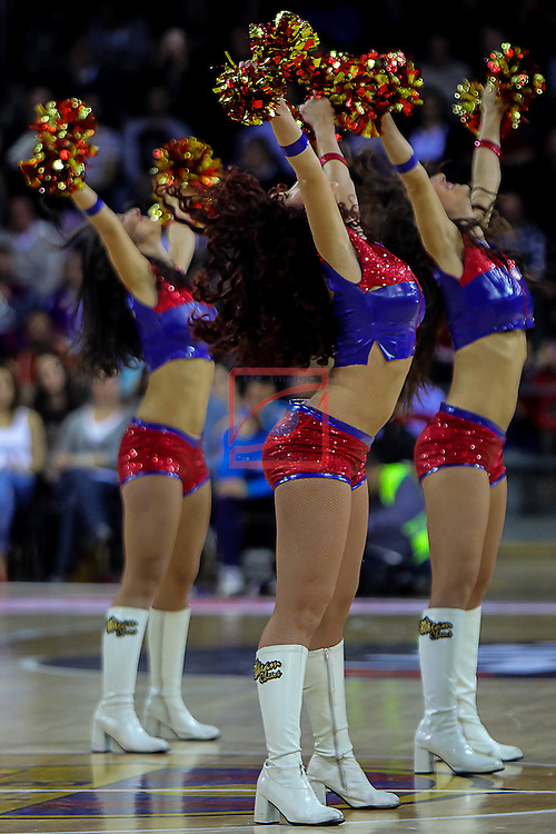Turkish Airlines Euroleague 2015-2016.<br /> Top 16 - Round 7.<br /> FC Barcelona Lassa vs Zalgiris Kaunas: 92-86.<br /> Dream Cheers.