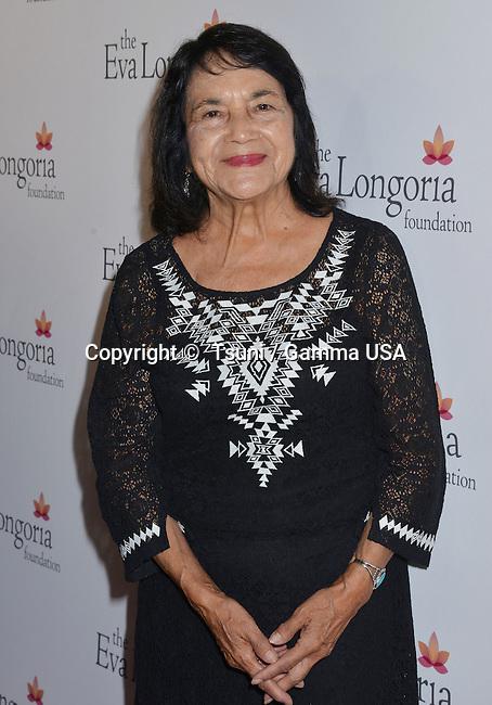 Dolores Huerta  at Eva Longoria Foundation at Beso restaurant inLos Angeles.