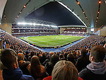 A sold-out Ibrox to watch the league champions