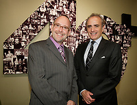 Montreal (Qc) CANADA Sept  30 2010 - Centaur Theater fundraiser Gala : Roy Surette (L), Calin Rovinescu. CEO, Air Canada.