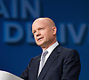 Conservative Party Conference, ICC, Birmingham, Great Britain <br /> Day 1<br /> 7th October 2012 <br /> <br /> <br /> Rt Hon William Hague MP<br /> Foreign Secretary <br /> <br /> Photograph by Elliott Franks<br /> <br /> Tel 07802 537 220 <br /> elliott@elliottfranks.com<br /> <br /> &copy;2012 Elliott Franks<br /> Agency space rates apply