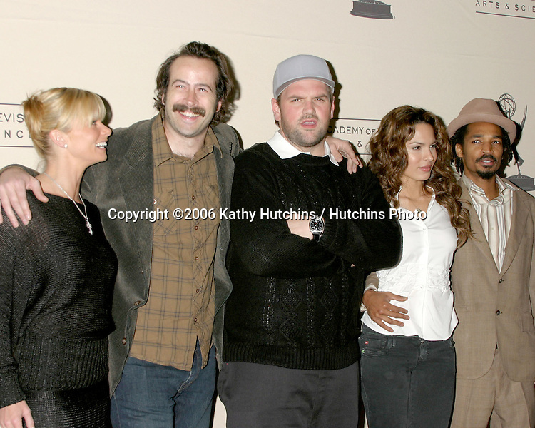 Jamie Pressly, Jason Lee, Ethan Suplee, .Nadine Velazquez, and Eddie Steeples.My Name Is Earl ATAS Panel.Academy of Television Arts and Sciences Theater.No Hollywood, CA.February 23, 2006.©2006 Kathy Hutchins / Hutchins Photo....