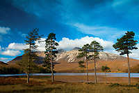 Beinn Eighe from Loch Clair, Coulin Forest, Ross & Cromarty, Northwest Highlands