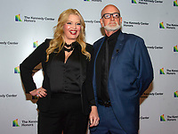 Melissa Peterman, of &quot;Reba,&quot; and her husband, John Brady, arrive for the formal Artist's Dinner honoring the recipients of the 41st Annual Kennedy Center Honors hosted by United States Deputy Secretary of State John J. Sullivan at the US Department of State in Washington, D.C. on Saturday, December 1, 2018. The 2018 honorees are: singer and actress Cher; composer and pianist Philip Glass; Country music entertainer Reba McEntire; and jazz saxophonist and composer Wayne Shorter. This year, the co-creators of Hamilton,? writer and actor Lin-Manuel Miranda, director Thomas Kail, choreographer Andy Blankenbuehler, and music director Alex Lacamoire will receive a unique Kennedy Center Honors as trailblazing creators of a transformative work that defies category.<br /> CAP/MPI/RS<br /> &copy;RS/MPI/Capital Pictures
