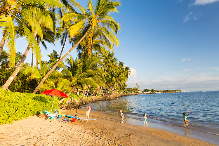 Baby Beach in Lahaina on the island of Maui, Hawaii, USA