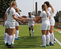 Cal Women's Soccer vs Cal Poly, August 19, 2016