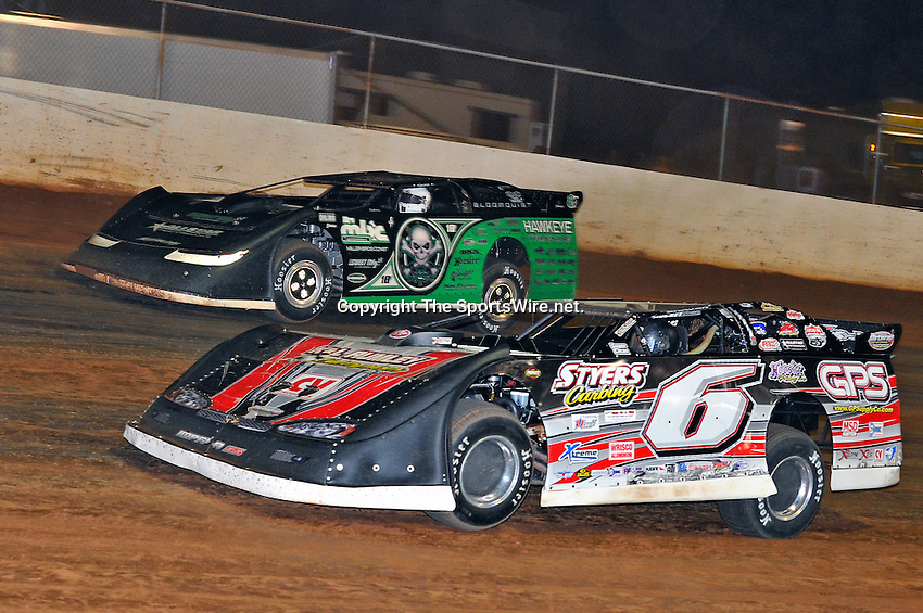 Oct 16, 2010; 10:29:00 PM;Mineral Wells,WV ., USA; The 30th Annual Dirt Track World Championship dirt late models 50,000-to-win event at the West Virginia Motor Speedway.  Mandatory Credit: (thesportswire.net)