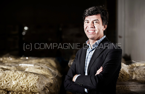 Wim Lannoey; CEO and general manager at Remo-Frit (Belgium, 09/10/2015)