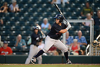 Tampa Yankees outfielder Mark Payton (22) at bat during a game against the Fort Myers Miracle on April 15, 2015 at Hammond Stadium in Fort Myers, Florida.  Tampa defeated Fort Myers 3-1 in eleven innings.  (Mike Janes/Four Seam Images)