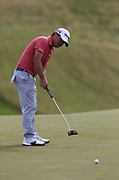 Brian Harman (USA) putts on the 8th green during Saturday's Round 3 of the 117th U.S. Open Championship 2017 held at Erin Hills, Erin, Wisconsin, USA. 17th June 2017.<br /> Picture: Eoin Clarke | Golffile<br /> <br /> <br /> All photos usage must carry mandatory copyright credit (&copy; Golffile | Eoin Clarke)