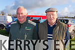 Pictured at Lixnaw Coursing Club 86th Annual Meeting at Granshagh, Ballinclogher on Sunday were L-R Donal O'Connell Lixnaw and Pat O'Connor Ballyduff.