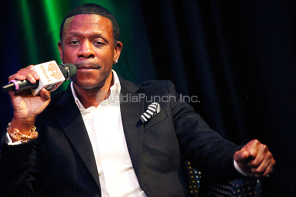 BALA CYNWYD, PA - FEBRUARY 21 :  Keith Sweat visits WDAS iHeart Radio Performance Theater in Bala Cynwyd, Pa on February 21, 2013  © Star Shooter / MediaPunch Inc