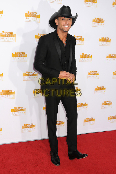 14 January 2014 - Hollywood, California - Tim McGraw. 50th Anniversary of the Sports Illustrated Swimsuit Issue held at The Dolby Theatre. <br /> CAP/ADM/BP<br /> &copy;Byron Purvis/AdMedia/Capital Pictures