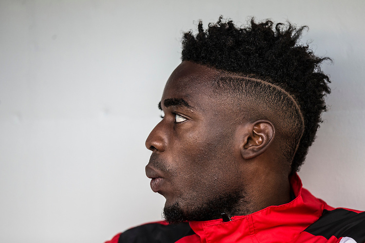 Fleetwood Town's Devante Cole starts on the bench<br /> <br /> Photographer Craig Mercer/CameraSport<br /> <br /> The EFL Sky Bet League One - Millwall v Fleetwood Town - Saturday 22nd October 2016 - The Den - London<br /> <br /> World Copyright &copy; 2016 CameraSport. All rights reserved. 43 Linden Ave. Countesthorpe. Leicester. England. LE8 5PG - Tel: +44 (0) 116 277 4147 - admin@camerasport.com - www.camerasport.com