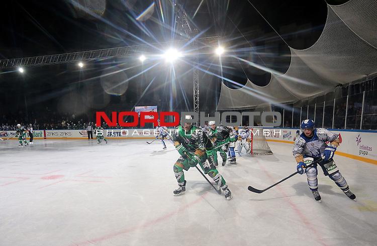 14.09.2012., Arena, Pula, Croatia - EBEL league, Arena Ice Fever, KHL Medvescak Zagreb -  HDDT Olimpija Ljubljana. <br /> <br /> Foto &copy;  nph / PIXSELL / Igor Kralj