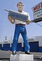 Joor Muffler man in Escondido, California