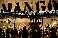 Mango clothes store on Istiklal Caddesi, Taksim, Istanbul, Turkey