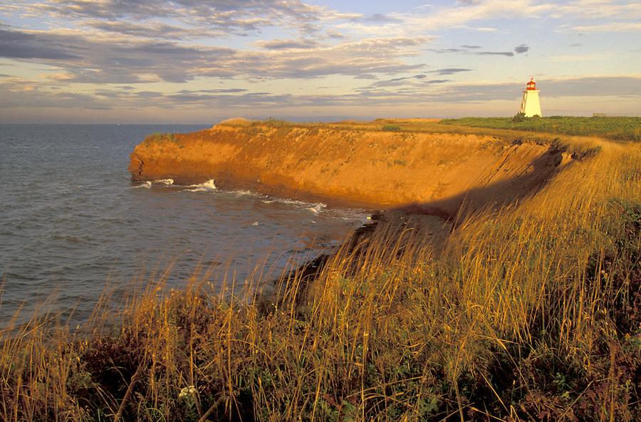 Cape Egmont Lighthouse, Cape Egmont, Baie Egmont Bay, Northumberland Straight, Prince Edward Island, Canada