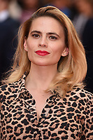 "Hayley Atwell<br /> arriving for the premiere of ""The Children Act"" at the Curzon Mayfair, London<br /> <br /> ©Ash Knotek  D3420  16/08/2018"