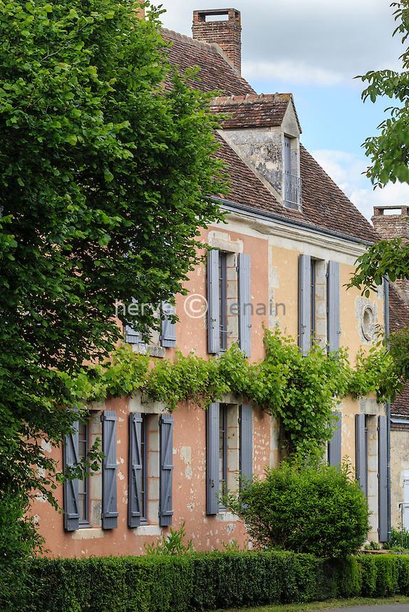 France, Orne (61), Condeau-au-Perche, hameau de Villeray // France, Orne, Condeau au Perche,  Villeray hamlet