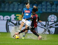 Marek Hamsik of Napoli  during  Genoa -   Napoli Stadio Luigi Ferraris, Genoa, Italy; Serie A football 10th November 2018