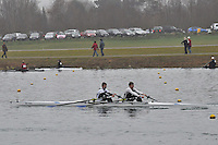014 EveshamRC J18A.2x..Marlow Regatta Committee Thames Valley Trial Head. 1900m at Dorney Lake/Eton College Rowing Centre, Dorney, Buckinghamshire. Sunday 29 January 2012. Run over three divisions.