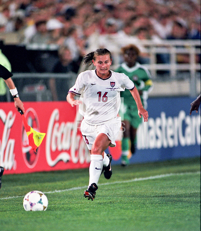 Soldier Field, Chicago IL - June 24, 1999; FIFA Women's World Cup 1999. USA 7 - Nigeria 1.