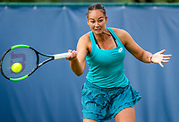 Rosmalen, Netherlands, 11 June, 2019, Tennis, Libema Open, Womans doubles: Lesley Kerkhove (NED) <br /> Photo: Henk Koster/tennisimages.com