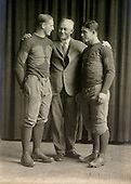 Fielding Yost with Bennie Oosterbaan and Benny Friedman