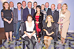 Pictured at the Ring of Kerry cycle dance in the Gleneagle Hotel, Killarney on Friday nighth were Mary McGarvey, Angela O'Connor, Aine O'Connell, Denis Daly, Patrick Donnell, Denis O'Connor, Joan O'Neill, Eoin Ryan, Martha Daly, Noreen O'Neill, John Keating, Dermot McGillicuddy, Padraig Brennan and Eimear Ni Mhurchu.