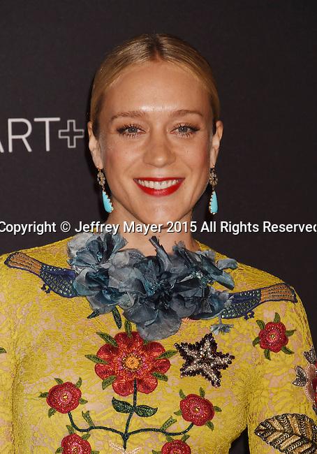 LOS ANGELES, CA - NOVEMBER 07: Actress Chloe Sevigny attends LACMA 2015 Art+Film Gala Honoring James Turrell and Alejandro G Iñárritu, Presented by Gucci at LACMA on November 7, 2015 in Los Angeles, California.