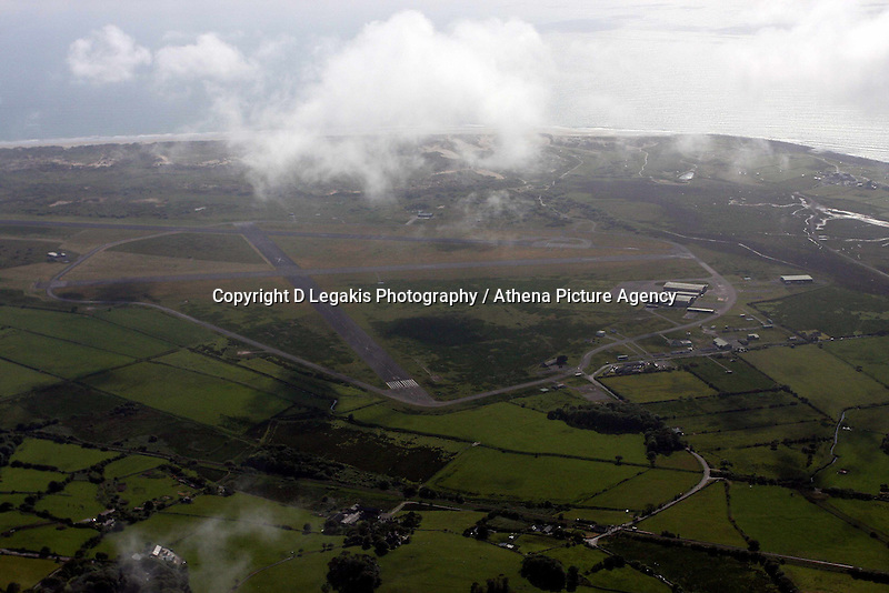 Former RAF base at Llanbedr<br />