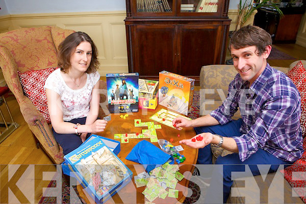Sister and brother duo Jade O'Mahony and Damien O'Mahony from Listowel Board Knights meet with like minded board game players in the Listowel Arms Hotel every Tuesday evening.
