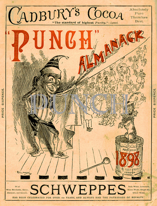 Punch Almanack 1898 (front cover)