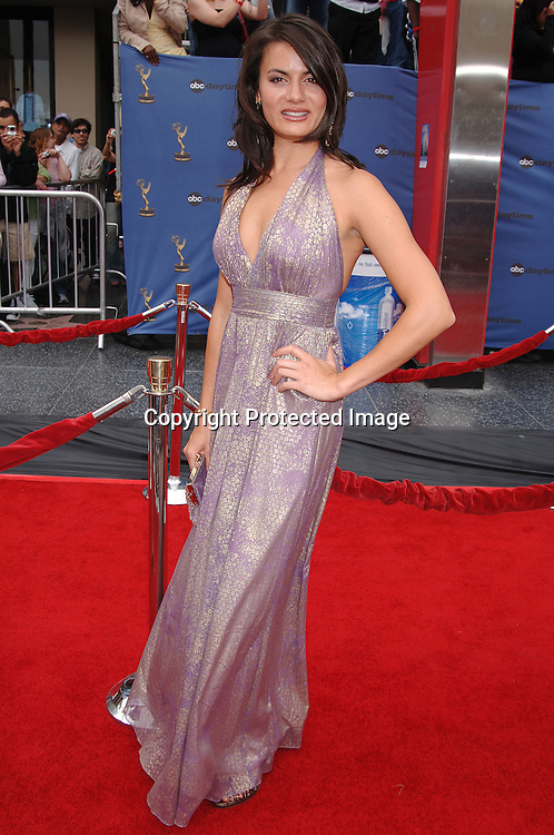 Michelle Belegrin ..arriving at The 33rd Annual Daytime Emmy Awards..on April 28, 2006 at The Kodak Theatre...Robin Platzer, Twin Images