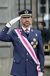 Military Christmas at Madrid Royal Palace. Princess Felipe...Photo: MAC / ALFAQUI