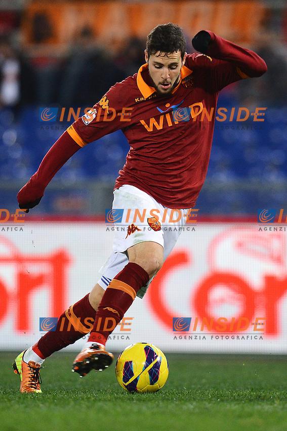 Mattia Destro Roma .Roma 23/01/2013 Stadio Olimpico.Football Calcio 2012/2013 Coppa Italia.Roma Vs Inter 1-1.Foto Andrea Staccioli Insidefoto