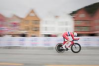 Soren Waerenskjold (NOR)<br /> <br /> Men Junior Individual Time Trial<br /> <br /> UCI 2017 Road World Championships - Bergen/Norway