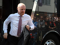 Burnley manager Sean Dyche arrives at the Vitality Stadium <br /> <br /> Photographer Ian Cook/CameraSport<br /> <br /> The Premier League - Bournemouth v Burnley - Saturday 13th May 2017 - Vitality Stadium - Bournemouth<br /> <br /> World Copyright &copy; 2017 CameraSport. All rights reserved. 43 Linden Ave. Countesthorpe. Leicester. England. LE8 5PG - Tel: +44 (0) 116 277 4147 - admin@camerasport.com - www.camerasport.com