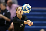 DURHAM, NC - SEPTEMBER 01: Northwestern's Taylor Tashima. The Northwestern University Wildcats played the University of South Carolina Gamecocks on September 1, 2017 at Cameron Indoor Stadium in Durham, NC in a Division I women's college volleyball match. Northwestern won 3-1 (13-25, 25-18, 25-18, 25-19).