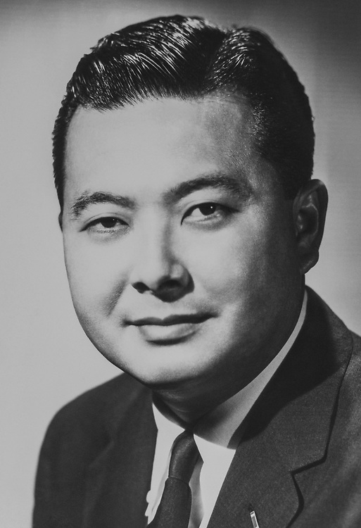 Sen. Daniel Inouye, D-Hawaii. 1964  (Photo by CQ Roll Call via Getty Images)