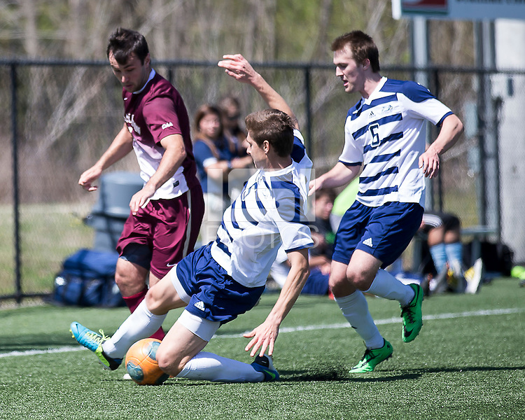 The College of Charleston Cougars played the  Georgia Southern Eagles in The Manchester Cup on April 5, 2014.  The Cougars won 2-0.  Trot Peterson (8), Brian Graham (5), Aaron Reifschneider (6)