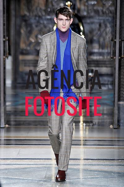 Londres, Inglaterra &ndash; 07/01/2014 - Desfile de Hackett London durante a Semana de moda masculina de Londres - Inverno 2014. <br /> Foto: FOTOSITE