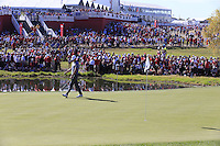 Thomas Pieters (Team Europe) during Sunday Singles matches at the Ryder Cup, Hazeltine National Golf Club, Chaska, Minnesota, USA. 02/10/2016<br /> Picture: Golffile   Fran Caffrey<br /> <br /> <br /> All photo usage must carry mandatory copyright credit (&copy; Golffile   Fran Caffrey)